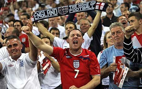 Британские болельщики