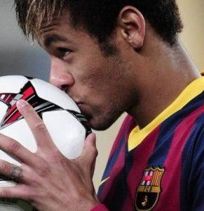 поцелуй мяча