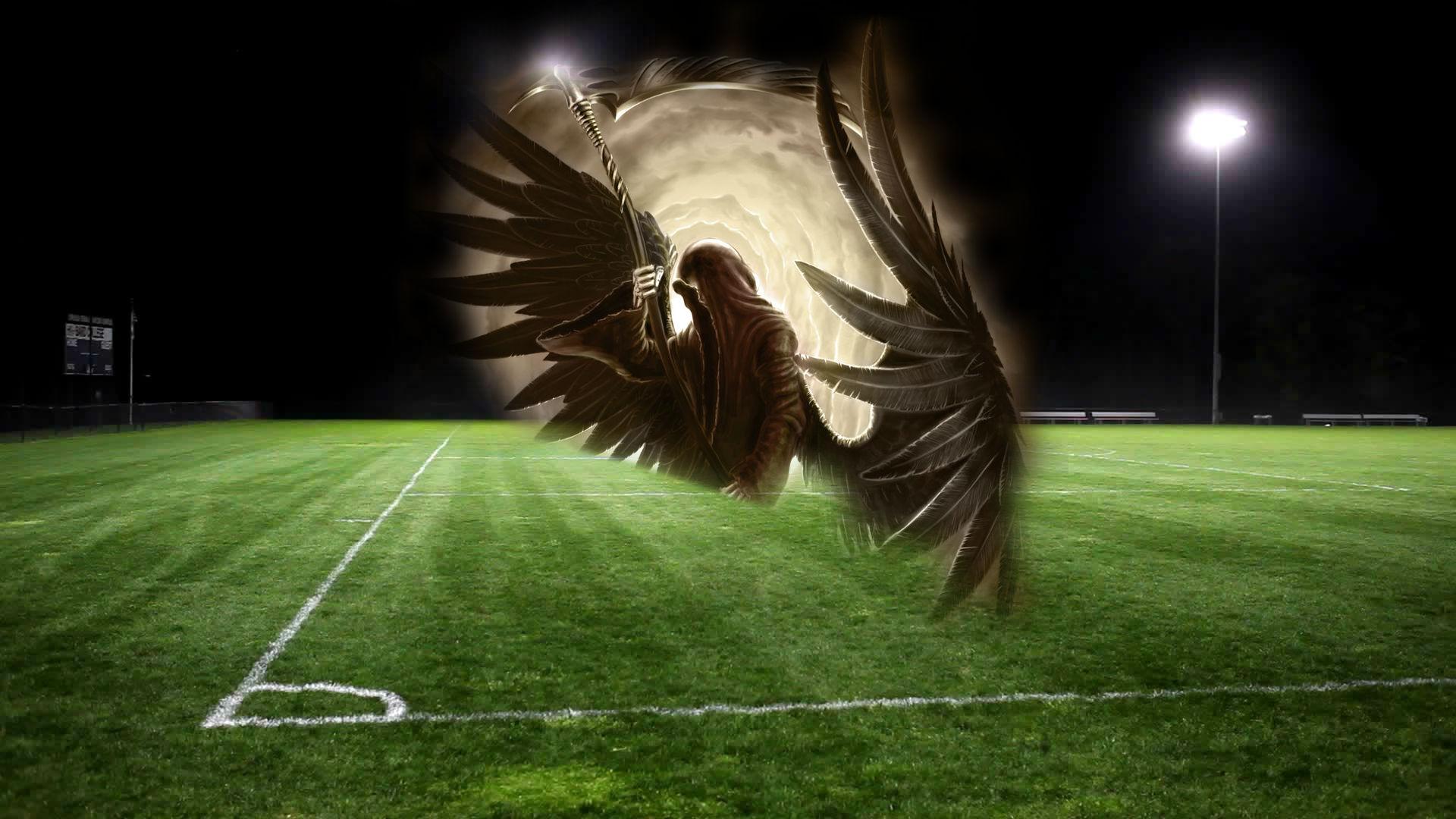 Смерть на футбольном поле