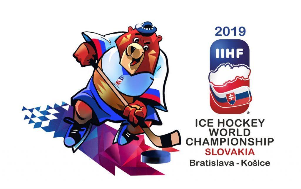 Логотип ЧМ 2019 по хоккею.