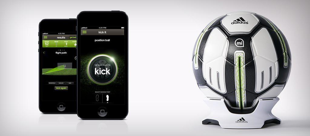 «умный» мяч micoach SMART BALL.