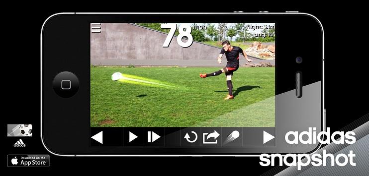 Adidas Snapshot для измерения силы удара.