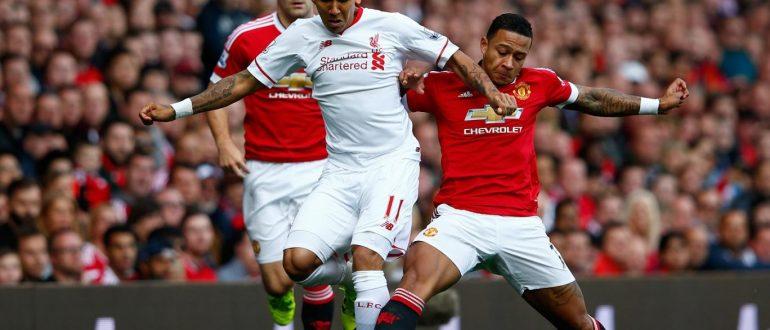 Игра Манчестер Юнайтед — Ливерпуль.