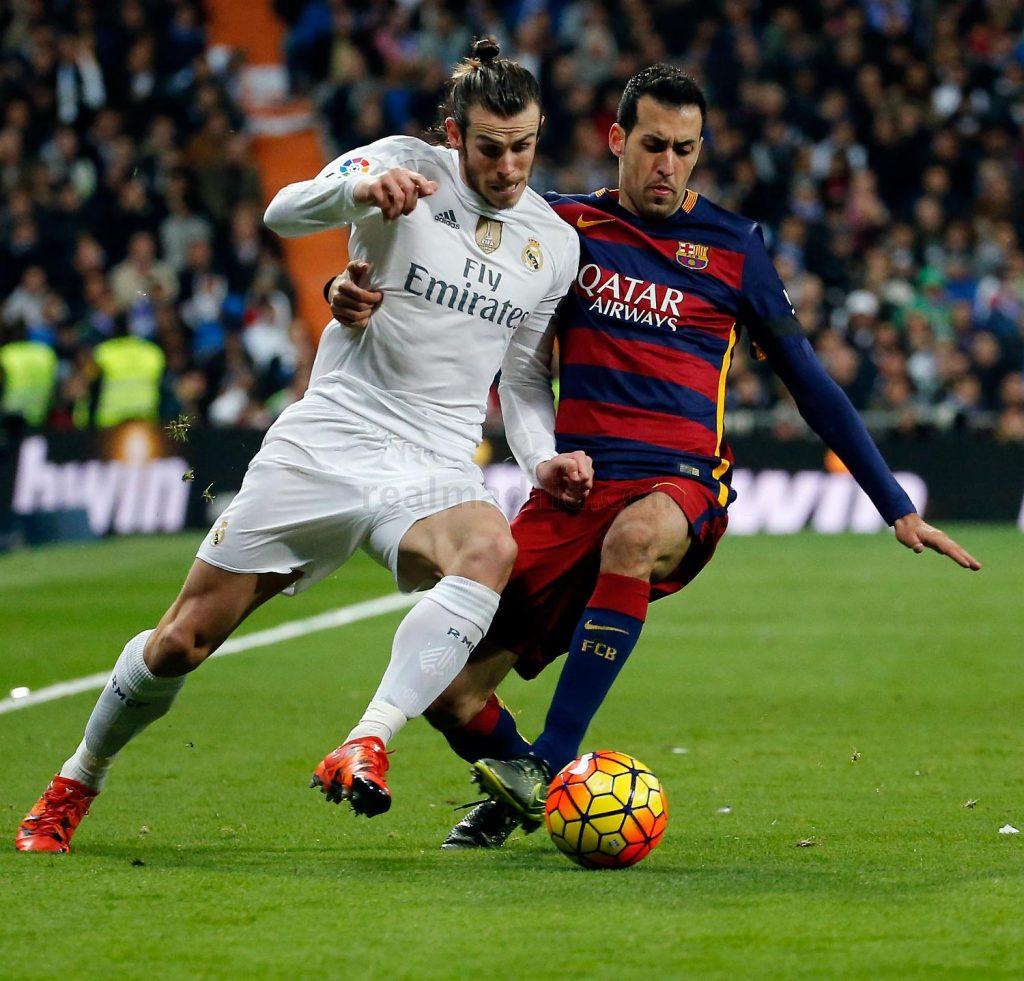 Игра Реал Мадрид — Барселона.
