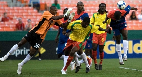 Матч команд «Барбадос» и «Гренада» .