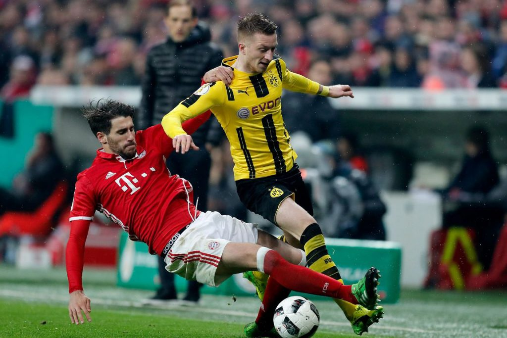 Игра Бавария — Боруссия Дортмунд.