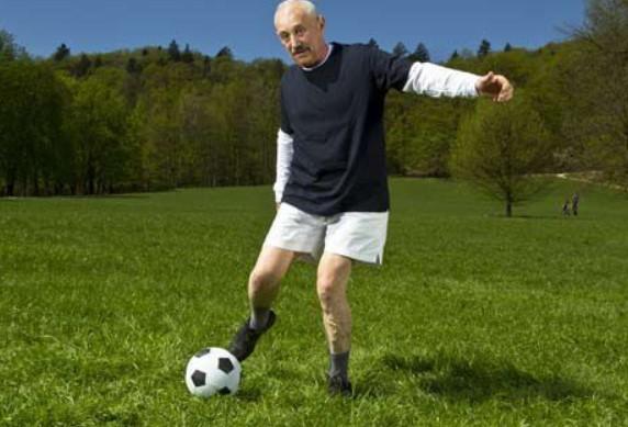 футболист пенсионер