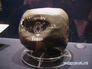 мяч в музее