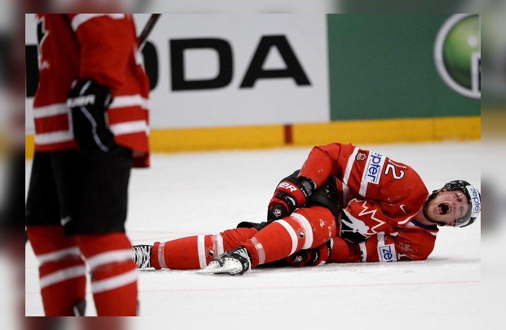 Травмы в хоккее.