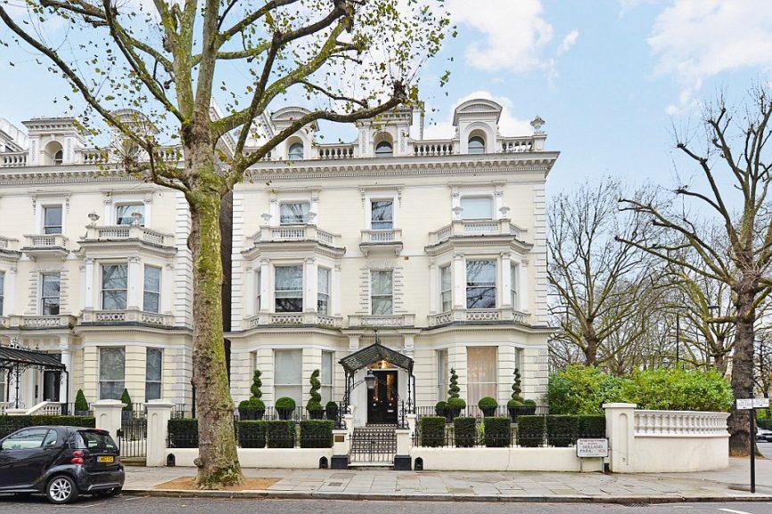 Дом Бекхема Лондон.