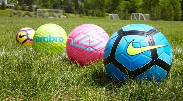 Основные виды футбольных мячей