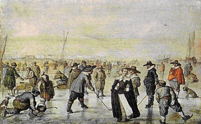 старинный хоккей