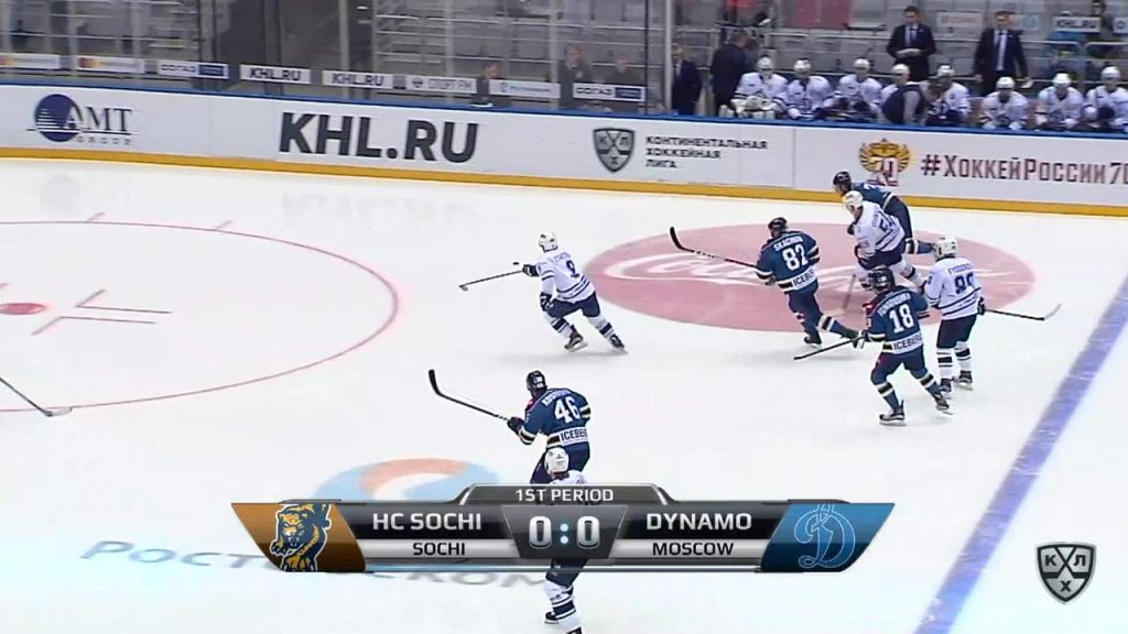 Ничейный счёт в хоккее.