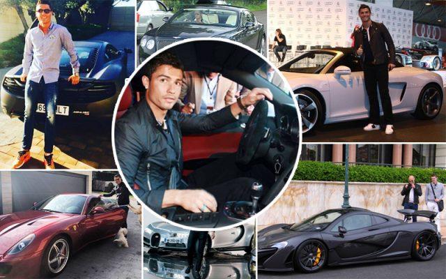 На чём ездит Криштиану Роналду: все машины футболиста