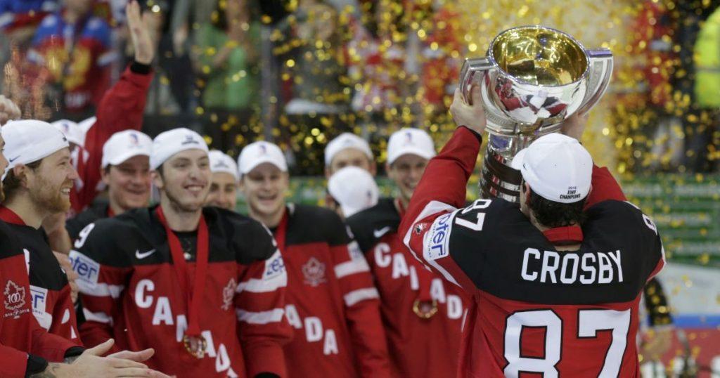 Победа хоккейной сборной Канады.