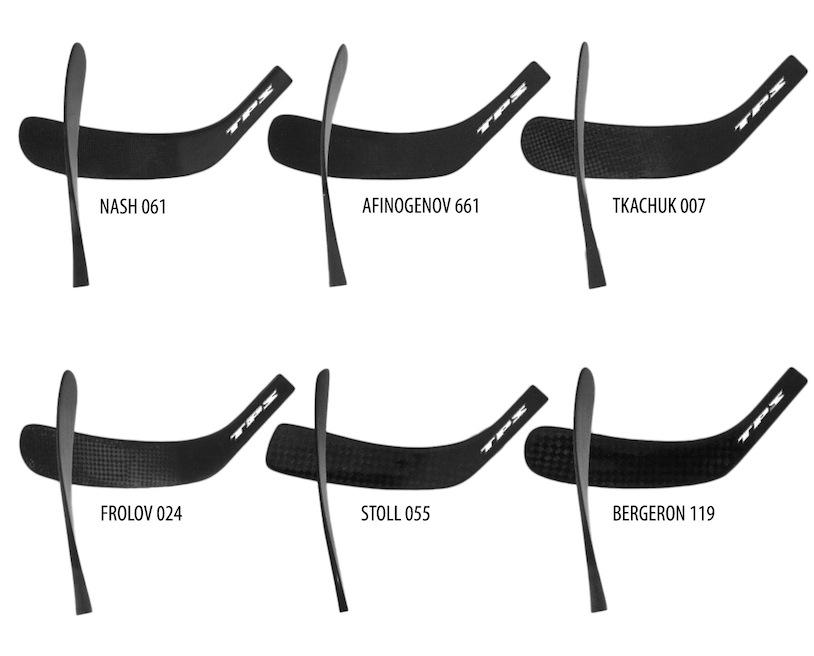 Форма крюка хоккейной клюшки