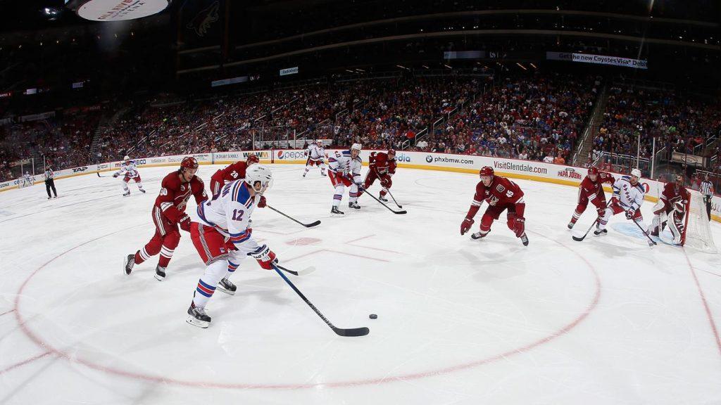 Хоккей НХЛ.