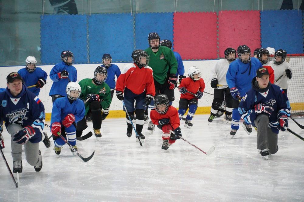 дети в хоккее