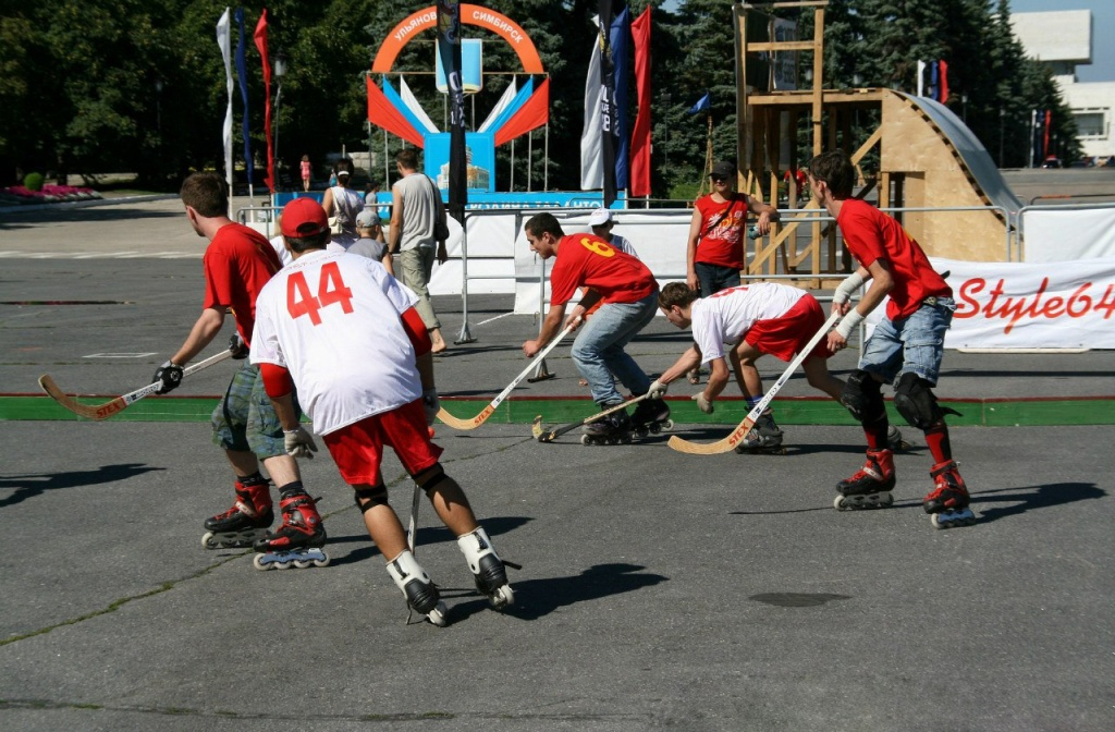 Хоккей на квадах