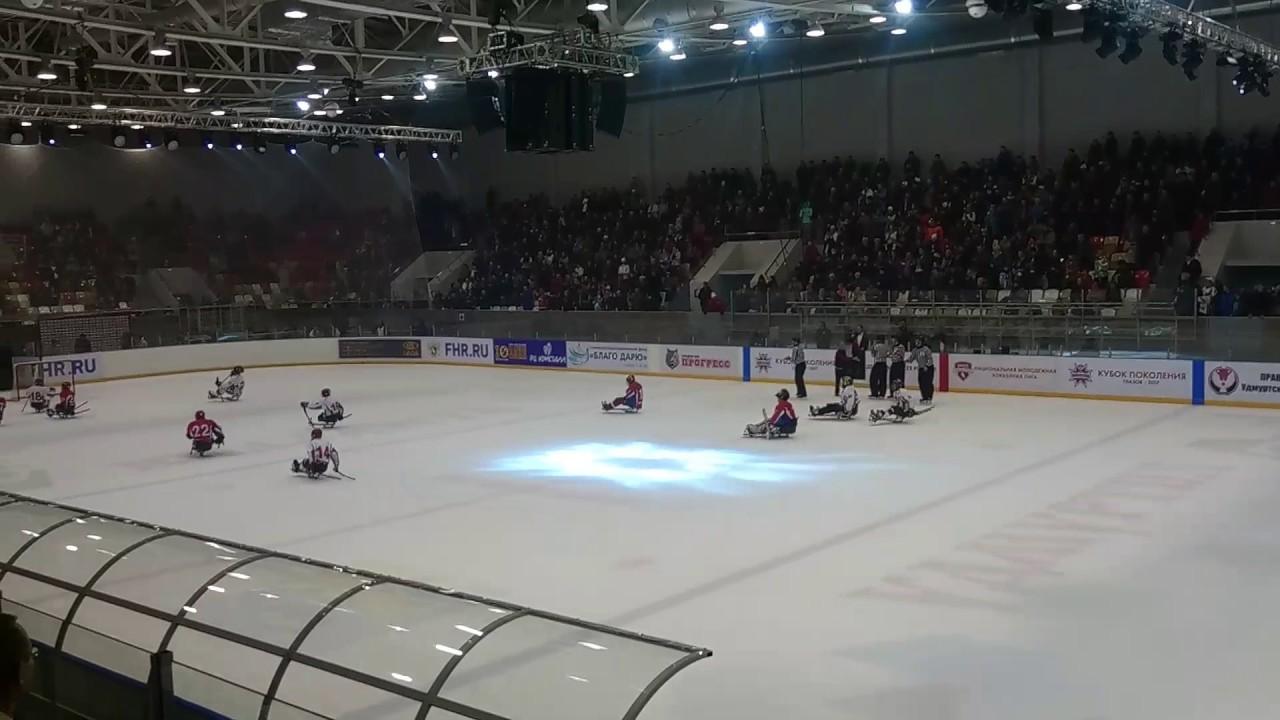 хоккей на санках