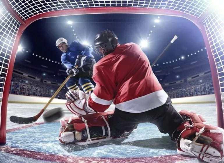 Победный гол в хоккее..