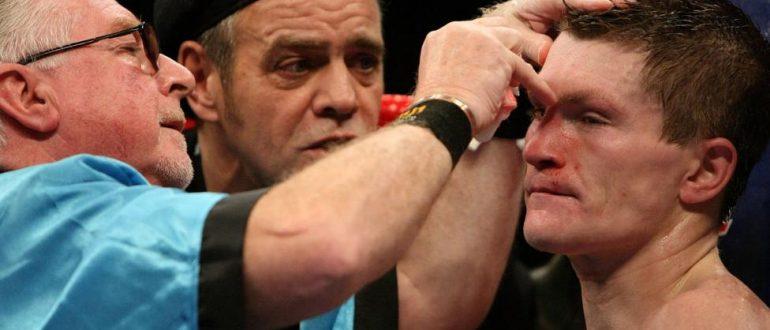Каимен в боксе.