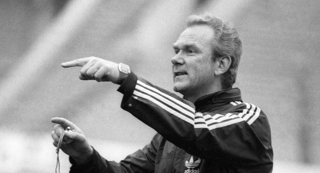 Легендарный Валерий Лобановский.