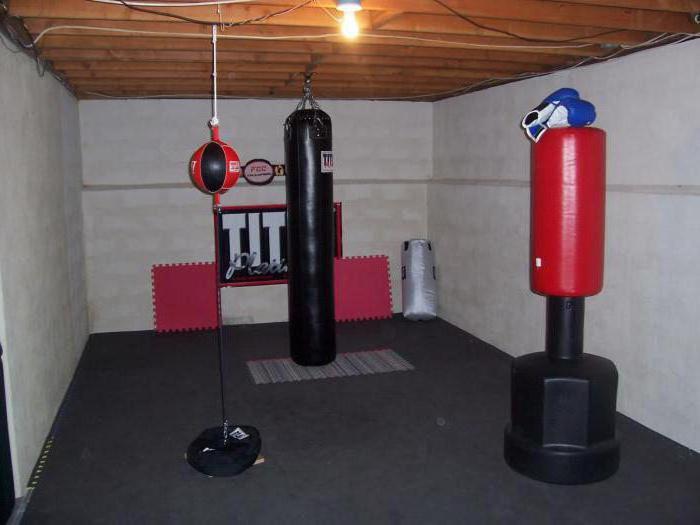 Оборудование для домашних тренировок.