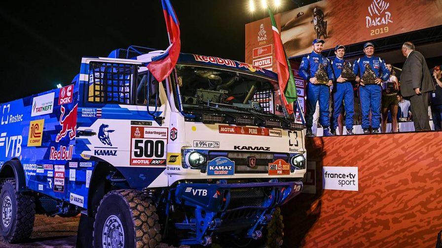 Чемпион ралли «Дакар» 2019 в категории грузовики.