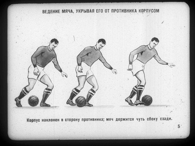Техника ведения мяча.