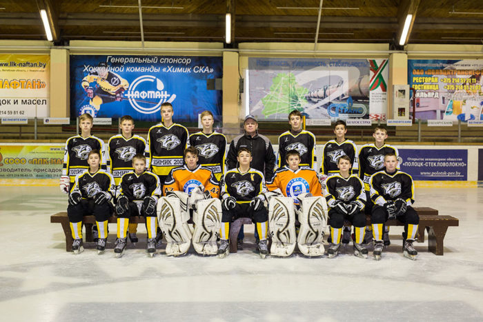 маленькие хоккеисты