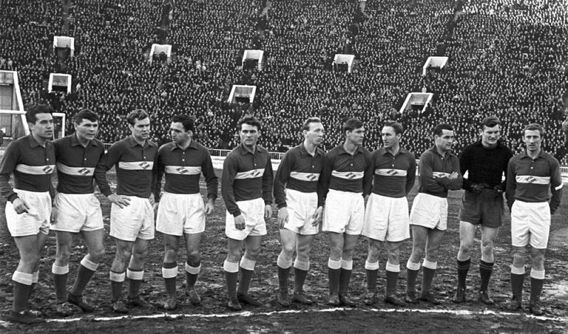 Спартак СССР футбол 1958.