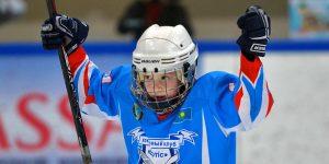 маленький хоккеист