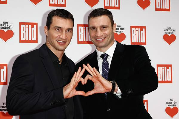 Виталий Кличко и Владимир Кличко
