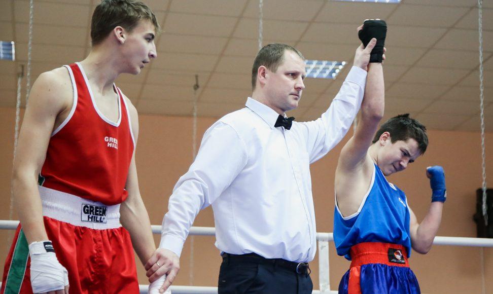 Победитель в соревнованиях по боксу.