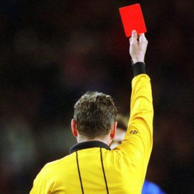 ТОП 10 самых известных красных карточек в футболе