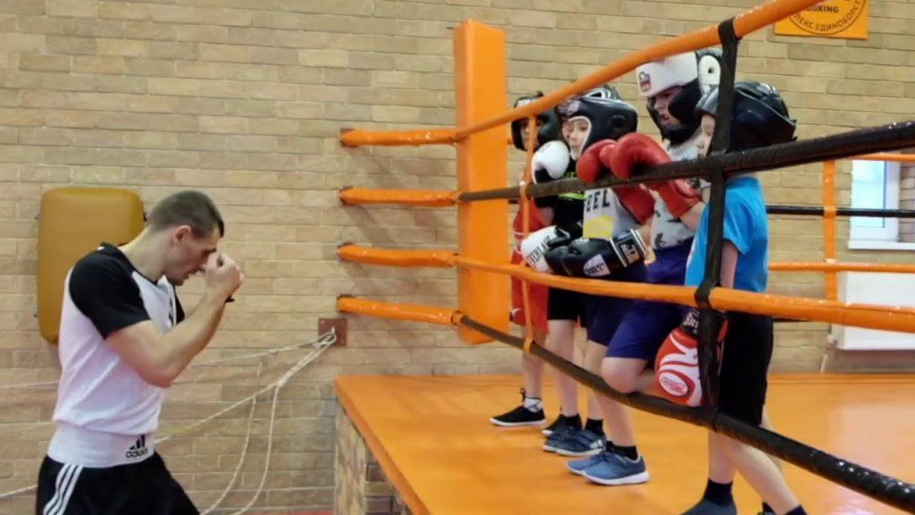 Тренер по боксу для детей.