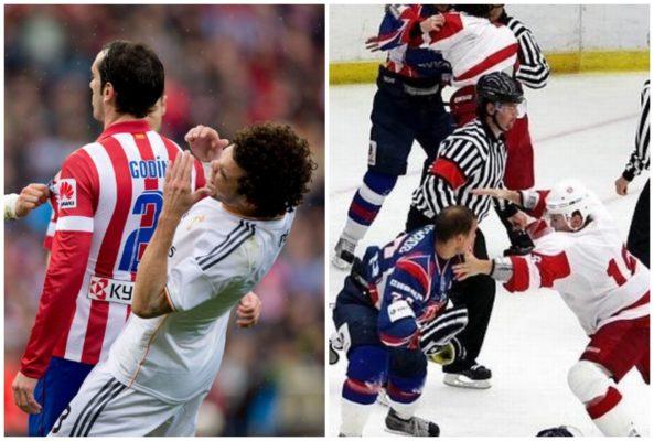 Почему русские хороши в хоккее, а в футболе нет?