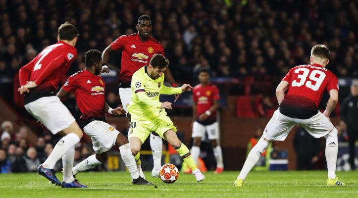 Манчестер Юнайтед и Месси
