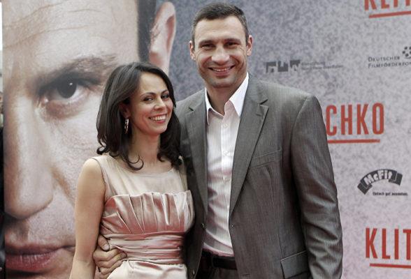 Виталий Кличко с женой