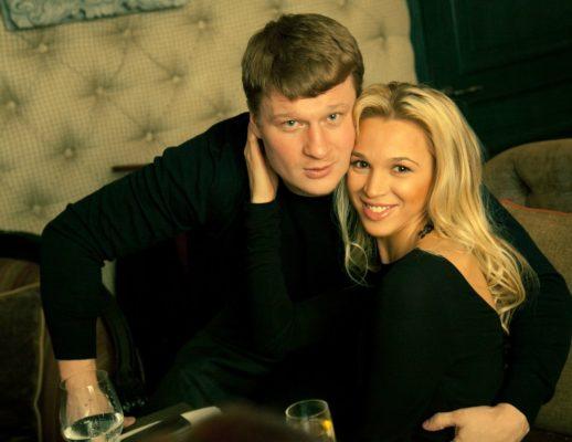 Александр Поветкин с женой