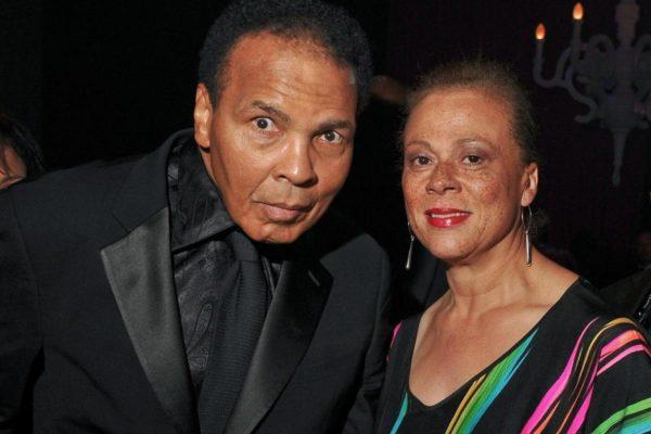 Мухаммед Али и жена