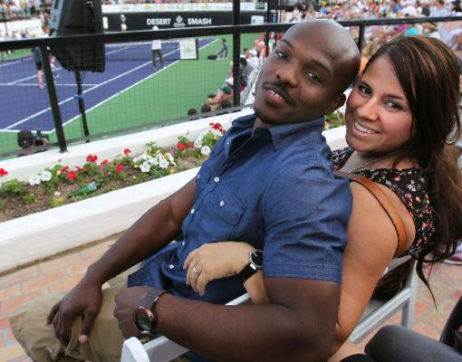 Тимоти Брэдли с женой