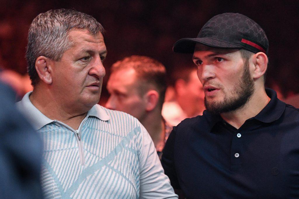 Хабиб с отцом