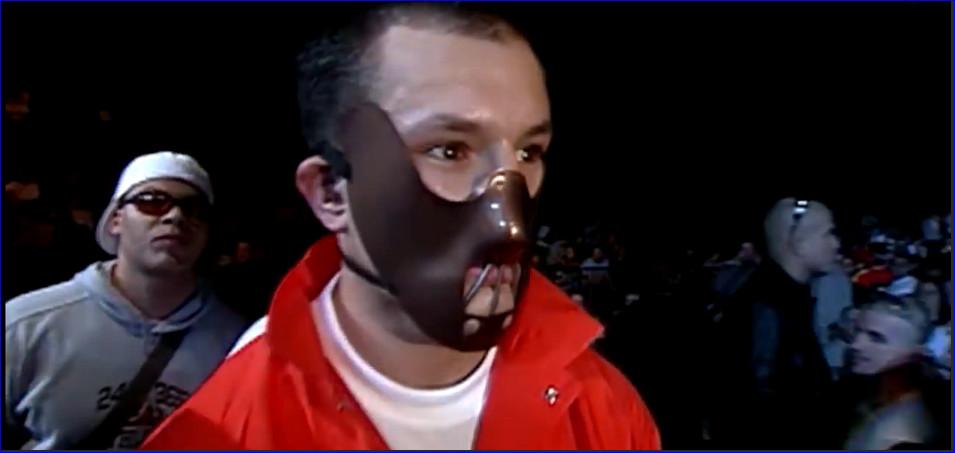 На свои бои Мюррей выходил в маске маньяка