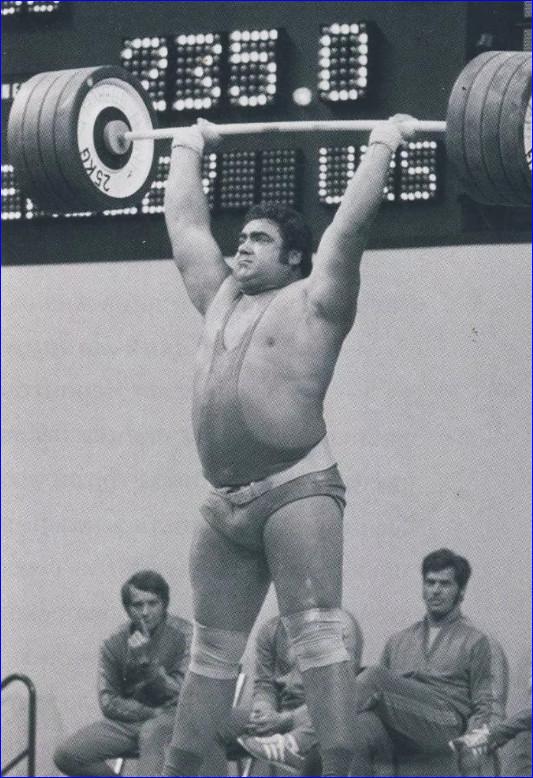Василий Иванович завоевывает золото в Монреале, 1976 год