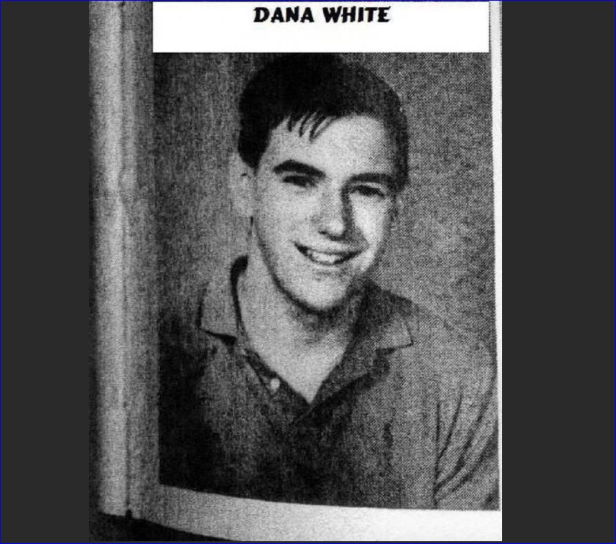 Фото из школьного альбома Дана Уайта. Еще с волосами