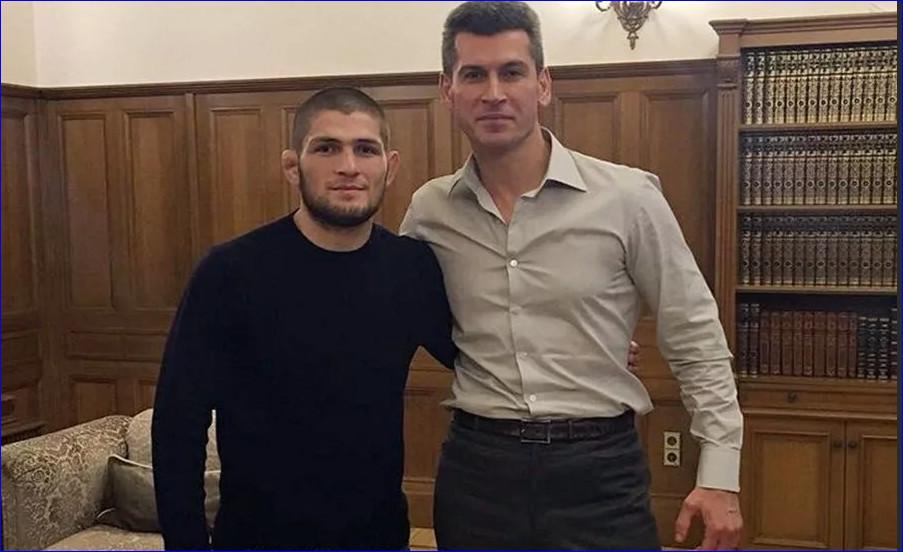Хабиб Нурмагомедов и Зиявудин Магомедов