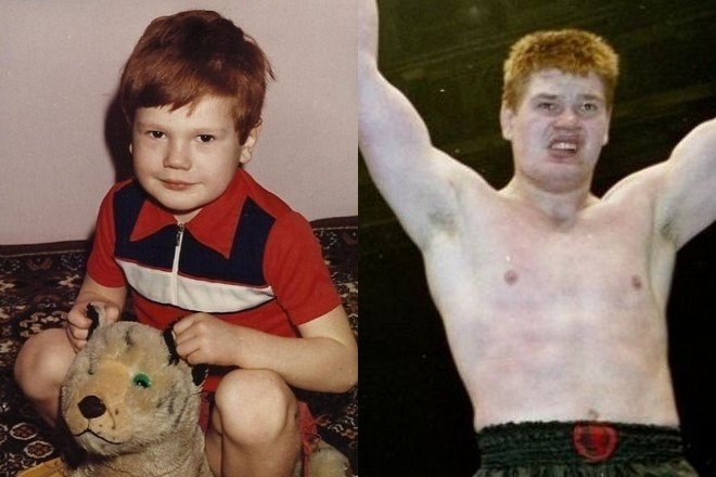 Вячеслав Дацик в детстве