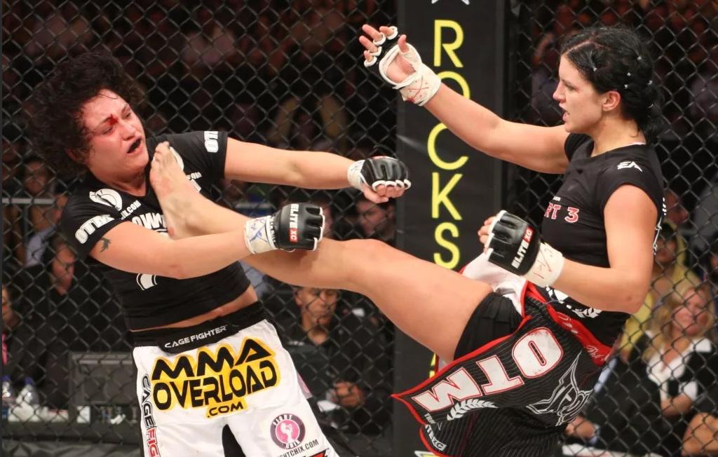 Джина 10 лет назад в UFC